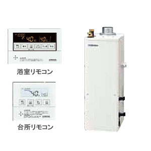 46.5kW直圧式 石油給湯器SAシリーズ UKB-SA470AMX/F CORONA(コロナ) 給湯+追いだき オート 屋内 強制排気 ボイスリモコン