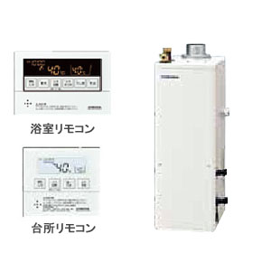 38.4kW直圧式 石油給湯器SAシリーズ UKB-SA380AMX/F CORONA(コロナ) 給湯+追いだき オート 屋内 強制排気 ボイスリモコン