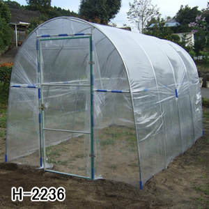 菜園ハウス H-2236型 南栄工業 約2.3坪【地域別運賃】