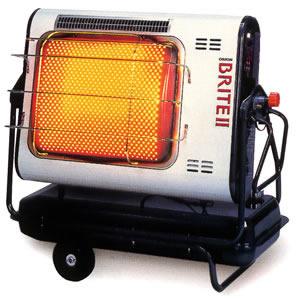 ジェットヒーター BRITEII 赤外線暖房機 HR330H オリオン機械(株)