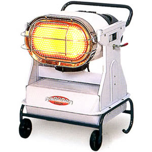 ジェットヒーターBRITE 赤外線暖房機ロボ暖 HR120D オリオン機械(株)
