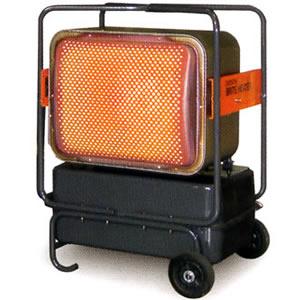 ジェットヒーターBRITE 赤外線暖房機 HR330E-L オリオン機械(株)