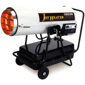 ジェットヒーターHP 可搬式温風機 HPE370 オリオン機械(株)