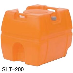 スーパーローリータンク SLT-200 スイコー オレンジ バルブ無し 200L【法人のみ】【条件付送料無料】