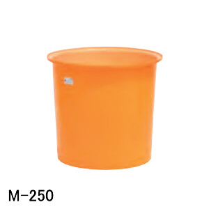 M型容器 M-250 スイコー オレンジ/白 250L【法人のみ】