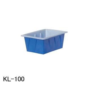 KL型容器 KL-100 スイコー 青/白 100L フタ無し【法人のみ】