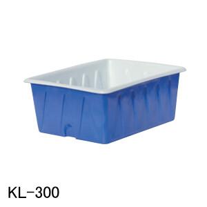 KL型容器 KL-300 スイコー 青/白 300L フタ無し【法人のみ】