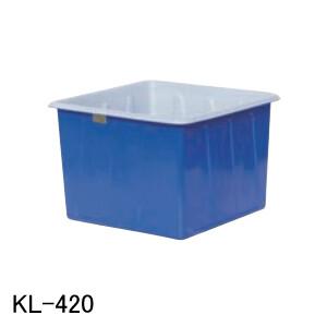 KL型容器 KL-420 スイコー 青/白 420L フタ無し【法人のみ】