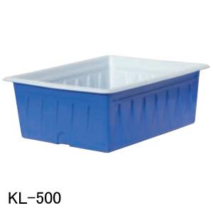 スイコー KL-500 青/白 フタ無し【法人のみ】 KL型容器 500L
