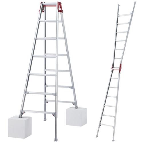 伸縮脚立 はしご兼用ロングタイプ 7尺 RYZ1.0-21 ハセガワ(長谷川工業)