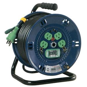 一般型電工ドラム(漏電遮断器付) NP-EB24 日動工業