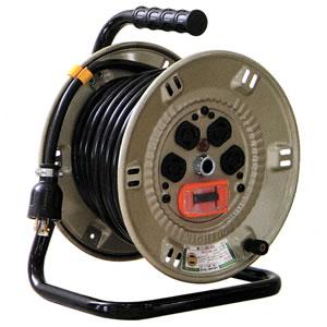 ロック式電工ドラム NP-EK24L-15A 日動工業