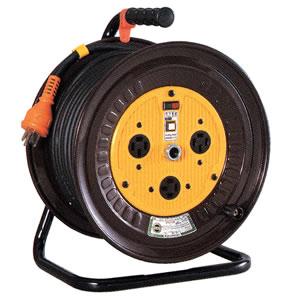 三相200V一般型電工ドラム(アース付) ND-E320-20A 日動工業