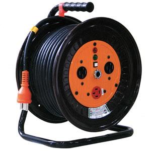 三相200V逆転式電工ドラム ND-E320R-20A 日動工業