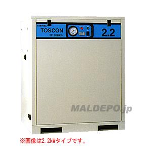 給油式 中圧エアーコンプレッサー(単体形) EP146-110T TOSHIBA(東芝)