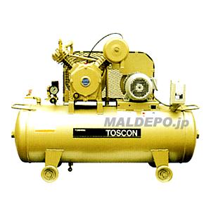 給油式 中圧エアーコンプレッサー(圧力開閉器式) SP145-22T TOSHIBA(東芝)