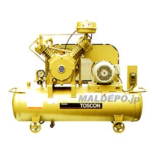給油式 低圧エアーコンプレッサー(自動アンローダー式) SU105-22T TOSHIBA(東芝)【受注生産品】