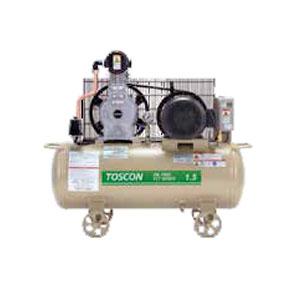 無給油式 エアーコンプレッサー(圧力開閉器式) VLT105-15T TOSHIBA(東芝) 50Hz