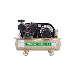 無給油式 エアーコンプレッサー(圧力開閉器式) VLT105-22T TOSHIBA(東芝) 50Hz