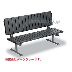 クイックステップ 背付ベンチ1500(ピンク) BC-310-015-2 テラモト