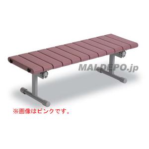 クイックステップ 背なしベンチ1200(ブルー) BC-310-112-3 テラモト