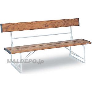 背付ベンチ1500(木調) BC-300-015-9 テラモト