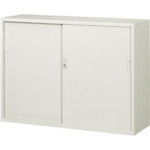 スチール戸引違書庫1200×400×880 N304D(ネオグレー) トラスコ(TRUSCO)