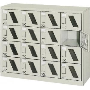 シューズボックス16人用1050×380×880窓付 SC-16WM(カギナシ) トラスコ(TRUSCO)