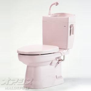 簡易水洗暖房便器(手洗い付) ソフィアシリーズ FZ300-H17-P2 ダイワ化成 ニューピンク 暖房便座
