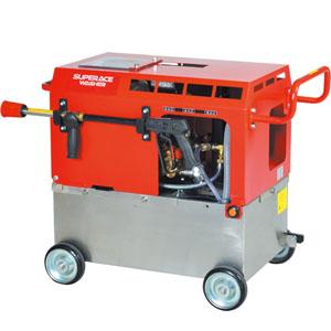 高圧洗浄機 水タンク付静音型 エンジン式/7Mpa SE-2107ST6 スーパー工業