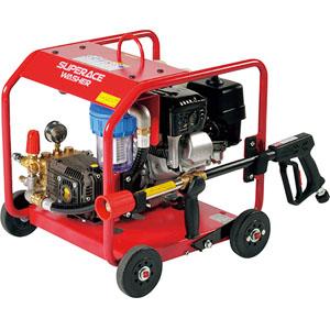 高圧洗浄機 スーパーエースウォッシャー エンジン式/10Mpa SER-2310-3【受注生産品】 スーパー工業