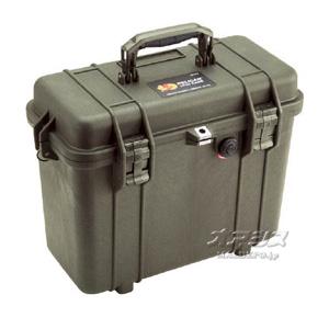 ミディアムケース(ミリタリーケース・プロテクターケース) 430×244×341mm オリーブドラブ 1430OD PELICAN PRODUCTS