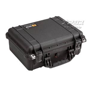 ミディアムケース(ミリタリーケース・プロテクターケース) 406×330×174mm ブラック 1450BK PELICAN PRODUCTS