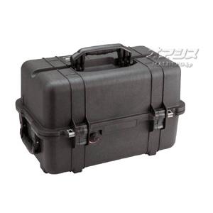 ミディアムケース(ミリタリーケース・プロテクターケース) 529×323×324mm ブラック 1460BK PELICAN PRODUCTS