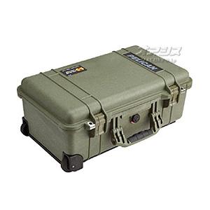 ミディアムケース(ミリタリーケース・プロテクターケース) 559×351×229mm オリーブドラブ 1510OD PELICAN PRODUCTS
