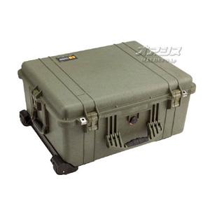 ラージケース(ミリタリーケース・プロテクターケース) 630×500×302mm オリーブドラブ 1610OD PELICAN PRODUCTS