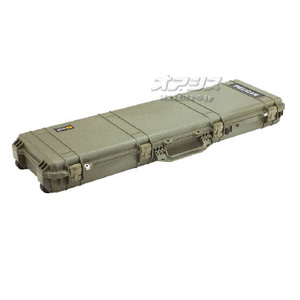 ロングケース(ミリタリーケース・プロテクターケース) 1346×406×155mm オリーブドラブ 1750OD PELICAN PRODUCTS