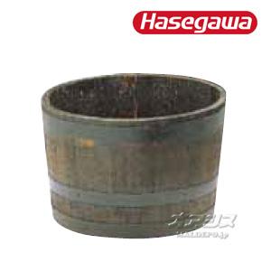 サントリーの本格ウイスキー樽プランター 椀型60 GB-6438 ハセガワ(長谷川工業)