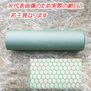 ビニール亀甲金網 #20 網目13mm 30m巻