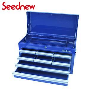 ツールチェスト(4段8引出し) 青 S-R908-B Seednew