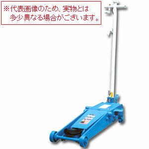 静音型 エアージャッキ 低床タイプ 1.8t ペダル付き NLA-1.8P-S 長崎ジャッキ 【個人宅配送不可】