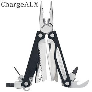 タフネスマルチツール チャージALX CHG/ALX-L レザーマンツールジャパン ステンレスシルバー×ブラック