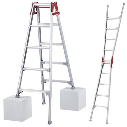 伸縮脚立 はしご兼用ロングタイプ 5尺 RYZ1.0-15 ハセガワ(長谷川工業)
