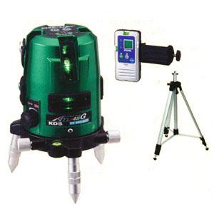 グリーンレーザー墨出器 三脚・受光器付 ATL-45G RVSA KDS スーパーレイ