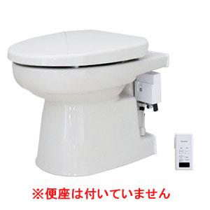 簡易水洗便器 オート洗浄タイプ 便座無し パステルアイボリー FAI-00-PI ダイワ化成