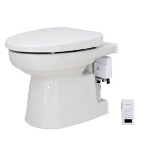 簡易水洗便器 オート洗浄タイプ 暖房便座 パステルアイボリー FAI-17(PI) ダイワ化成