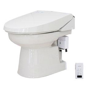 簡易水洗便器 オート洗浄タイプ 洗浄便座 パステルアイボリー FAI-KB21(PI) ダイワ化成