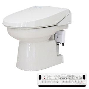 簡易水洗便器 オート洗浄タイプ フルオート洗浄便座 パステルアイボリー FAI-EA24(PI) ダイワ化成