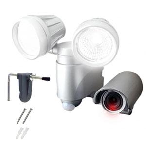 録画機能付LEDセンサーライト マイクロSDカード付き SLT-6LWVA 株式会社高儀