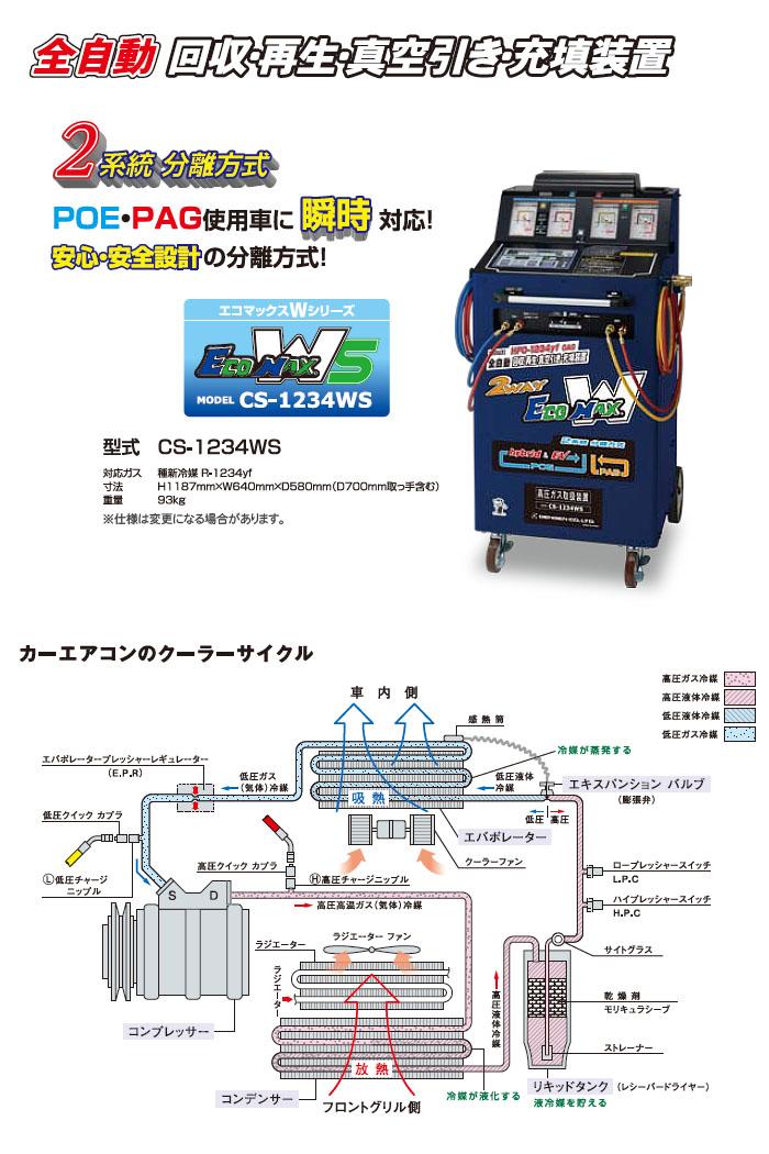 ガス 機 エアコン 回収